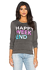 T-SHIRTS MANCHES LONGUES HAPPY WEEKEND