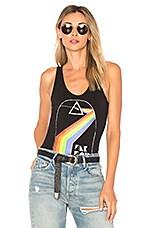 Chaser Pink Floyd Bodysuit in True Black