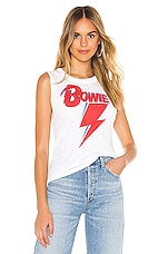 Chaser Bowie Bolt Tank in White