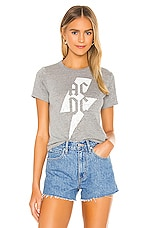Chaser X REVOLVE AC/DC Bolt Triblend Jersey Tee in Streaky Grey