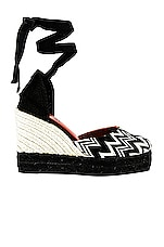 Castaner x Missoni Carina Wedge in Black