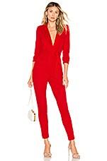 Chrissy Teigen x REVOLVE Cameron Jumpsuit in True Red