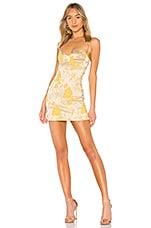 Chrissy Teigen x REVOLVE Tom Kha Dress in Gold Blossom
