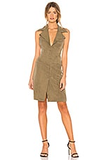 Chrissy Teigen x REVOLVE Thai Milk Punch Dress in Olive