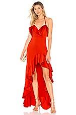 Chrissy Teigen x REVOLVE Satay Gown in Red
