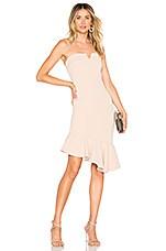 Chrissy Teigen x REVOLVE Micah Mini Dress in Nude