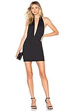 Chrissy Teigen x REVOLVE Ezra Mini Dress in Black