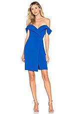 Chrissy Teigen x REVOLVE Thea Mini Dress in Cobalt Blue