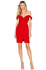 Chrissy Teigen x REVOLVE Thea Mini Dress in True Red