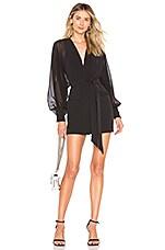 Chrissy Teigen x REVOLVE Everett Mini Dress in Black
