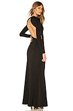 Chrissy Teigen x REVOLVE Emmanuelle Maxi Dress in Black