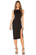 Chrissy Teigen x REVOLVE Zeke Midi Dress in Black