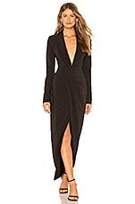 Chrissy Teigen x REVOLVE Emmett Maxi Suit in Black