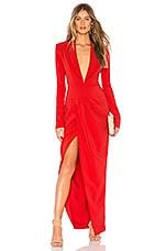Chrissy Teigen x REVOLVE Emmett Maxi Suit Dress in True Red