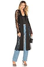 Chrissy Teigen x REVOLVE Polo Lounge Jacket in Black