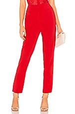 Chrissy Teigen x REVOLVE Kaidon Pants in True Red