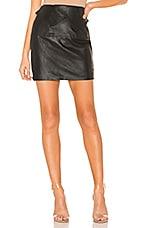 Chrissy Teigen x REVOLVE Grayson Mini Skirt in Black