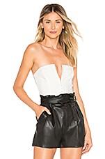 Chrissy Teigen x REVOLVE Simone Bodysuit in White