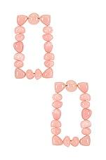 Cult Gaia Dita Earrings in Pink