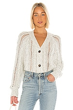 cupcakes and cashmere Venice Dolman Button Up Cardigan in Oatmeal