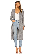 cupcakes and cashmere Victoria Duster in Heather Grey