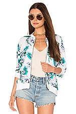 cupcakes and cashmere Anjelica Bomber in White