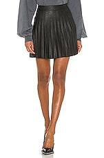 cupcakes and cashmere Cannes Skirt in Black