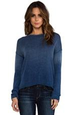 The Loner Sweater in Indigo Fade