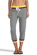 The Crop Sweatpant in Heather