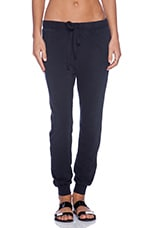 The Slim Vintage Sweatpant in Black Beauty