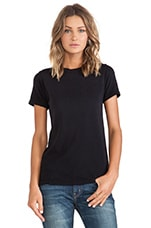 The Slight Tee in Black Beauty