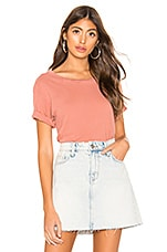 Current/Elliott The Short CG Tee in Canyon Rose