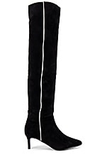 Caverley Jazzy Boot in Black Suede