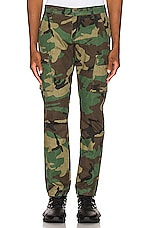 Crysp Denim Jackson Cargo Pants in Erdl Camo
