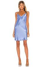 DANNIJO Mini Slip Dress in Moonstone