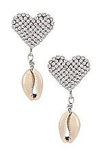 DANNIJO Playa Earring in Silver