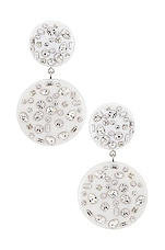 DANNIJO Jessie Earring in White