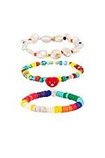 DANNIJO Alana Bracelet Set in Multi