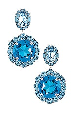DANNIJO Moore Earrings in Blue