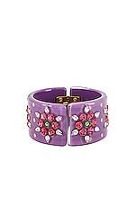 DANNIJO Roxanne Bracelet in Purple