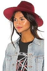 Don Paris Renton Hat in Bordeaux