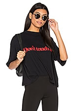 Daydream Nation Dad's Whiskey Don't Touch Me Tee in Black