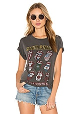 Rolling Stones 94 Tour Tee in Faded Black