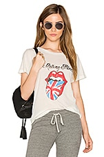 Union Jack Tee in White