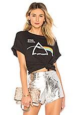 DAYDREAMER Pink Floyd Boyfriend Tee in Ash