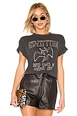 DAYDREAMER X REVOLVE Led Zeppelin Studded Tee in Washed Black