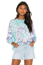 DAYDREAMER X REVOLVE Sprial Tie Dye Tee in 2 Color Spiral Tie Dye