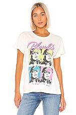 DAYDREAMER Blondie Pop Poster Tour Tee in Stone Vintage White