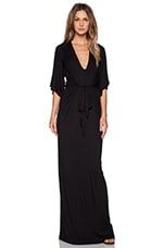 Greece Maxi Dress in Black