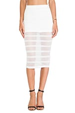 DeLacy Dakota Skirt in White
